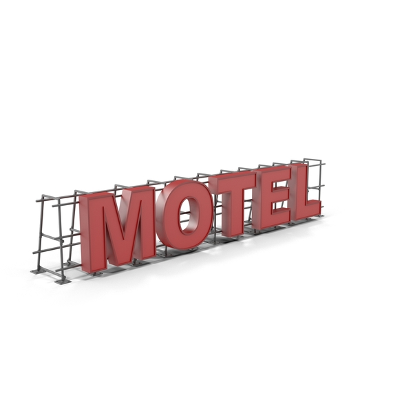 Motel Sign PNG & PSD Images