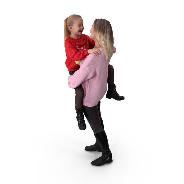 Woman: Mother With Girl PNG & PSD Images