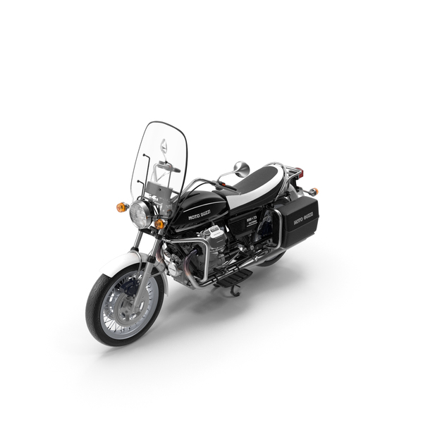 Standard Motorcycle: Moto Guzzi 850 T3 Classic Motorbike PNG & PSD Images