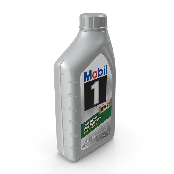Motor Oil Mobil 1L PNG & PSD Images