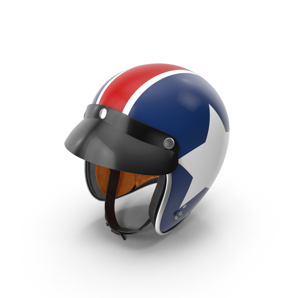 Motorcycle Helmet Object
