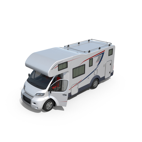 Recreational Vehicle: Motorhome Generic PNG & PSD Images