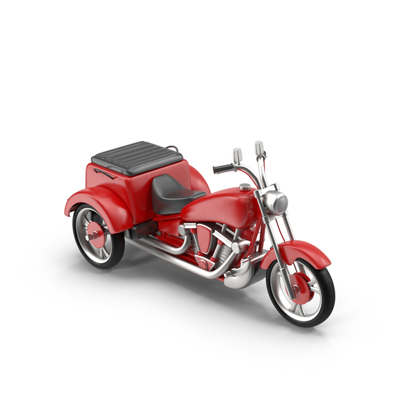 Trike Chopper: Motorized Tricycle PNG & PSD Images