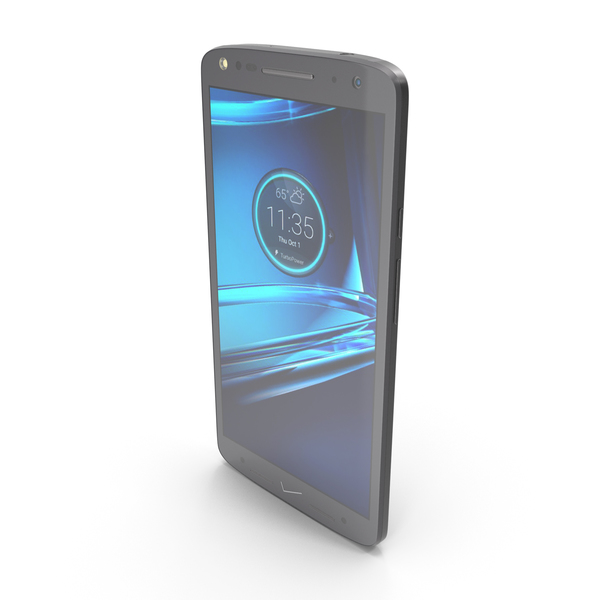 Motorola Droid Turbo 2 Black PNG & PSD Images