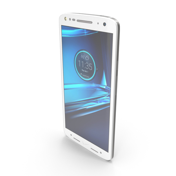 Motorola Droid Turbo 2 Winter White PNG & PSD Images