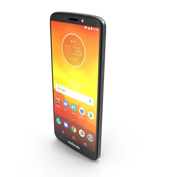 Motorola Moto E5 Gray PNG & PSD Images