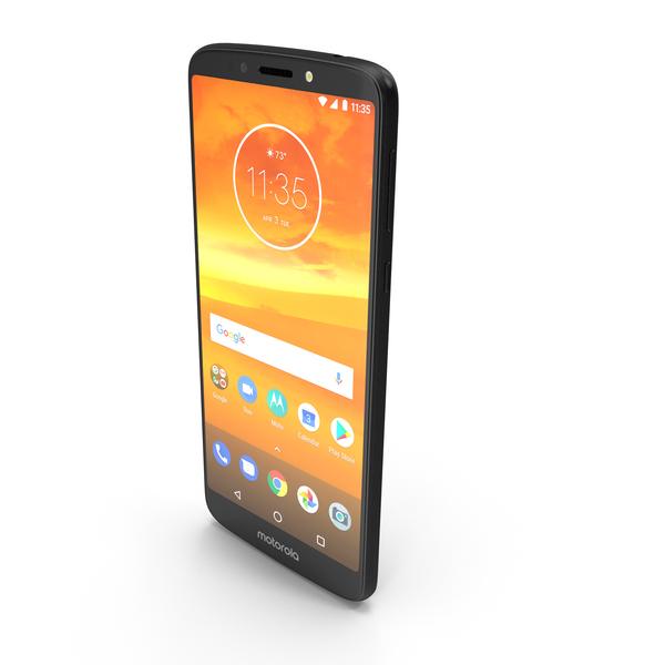 Motorola Moto E5 Plus Black PNG & PSD Images
