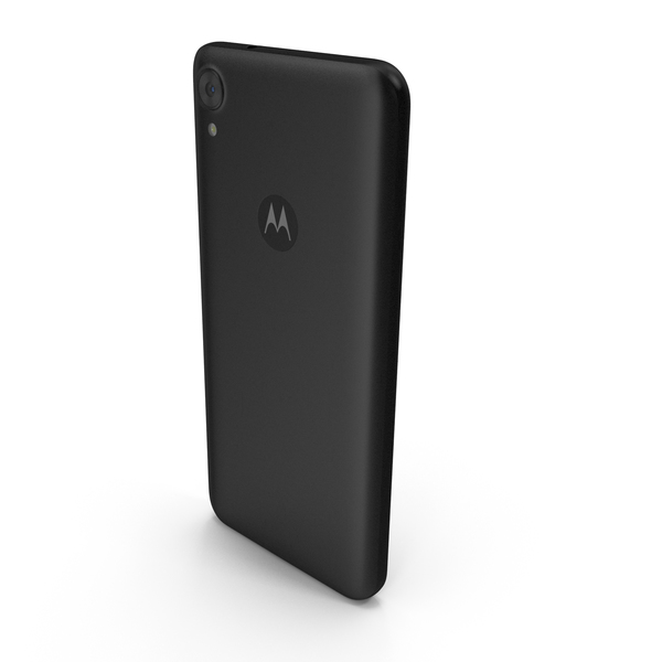 Motorola Moto E6 Black PNG & PSD Images