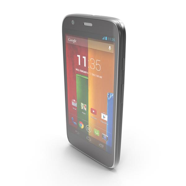 Motorola Moto G & G Dual SIM Black PNG & PSD Images