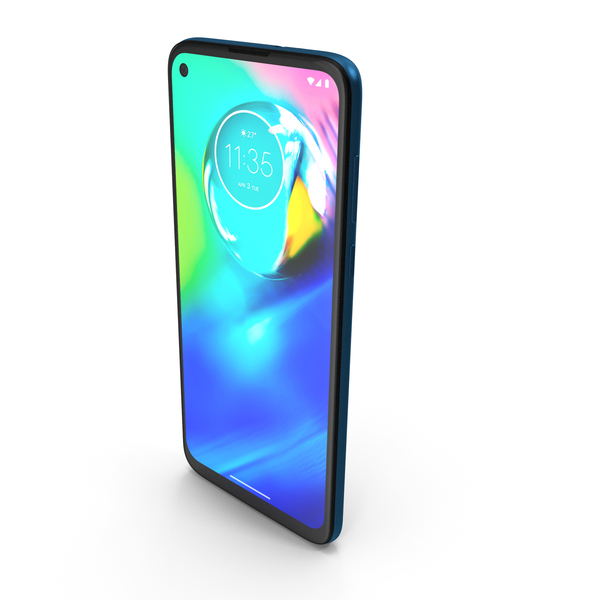 Motorola Moto G (G8) Power Blue PNG & PSD Images