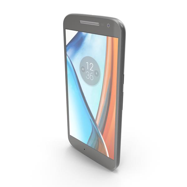 Motorola Moto G4 Black PNG & PSD Images