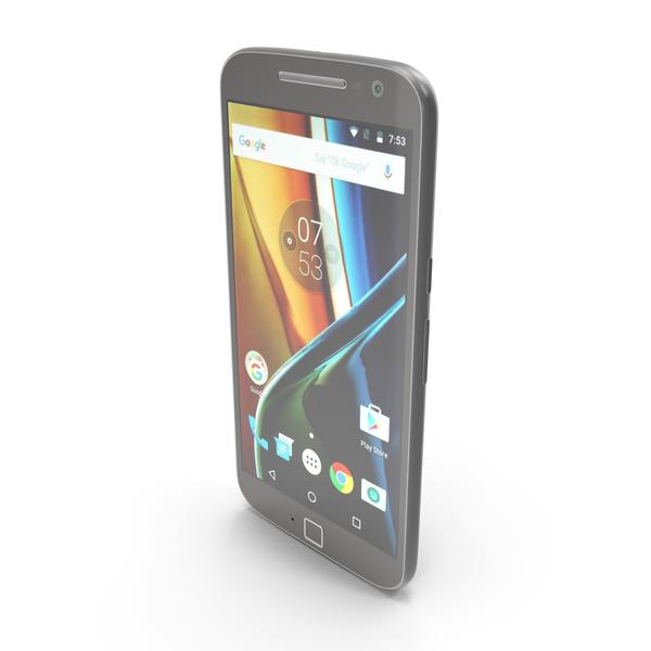 Motorola Moto G4 Plus Black PNG & PSD Images