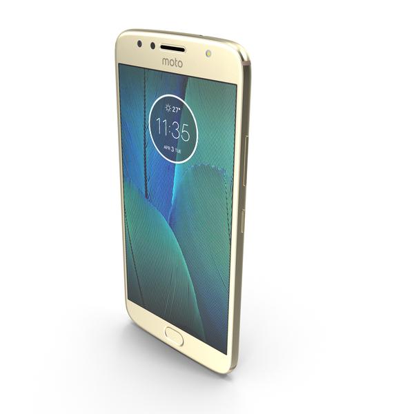 Motorola Moto G5S Plus Gold PNG & PSD Images