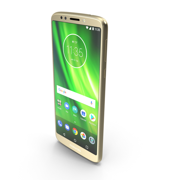 Motorola Moto G6 Play Fine Gold PNG & PSD Images