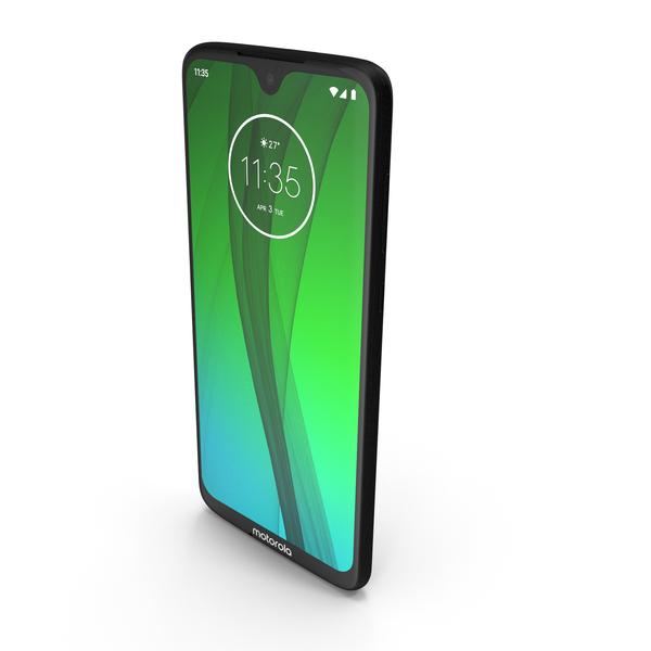 Motorola Moto G7 Black PNG & PSD Images
