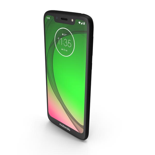 Motorola Moto G7 Play Starry Black PNG & PSD Images