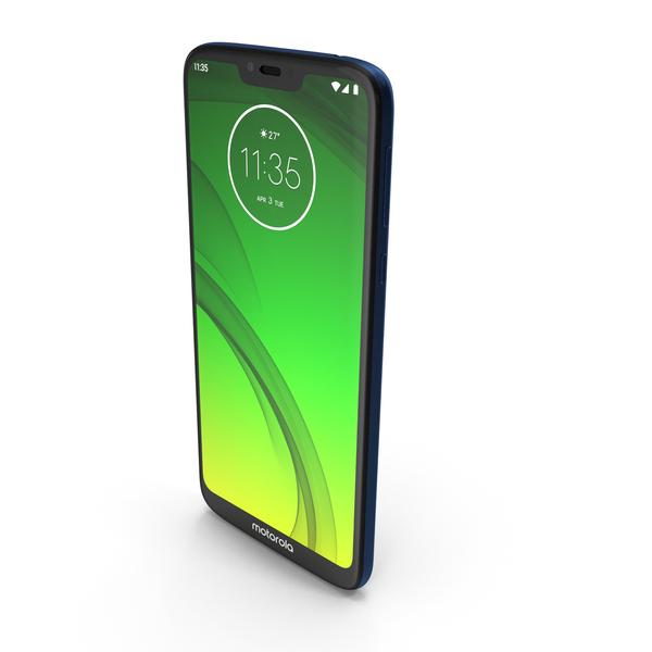 Motorola Moto G7 Power Marine Blue PNG & PSD Images