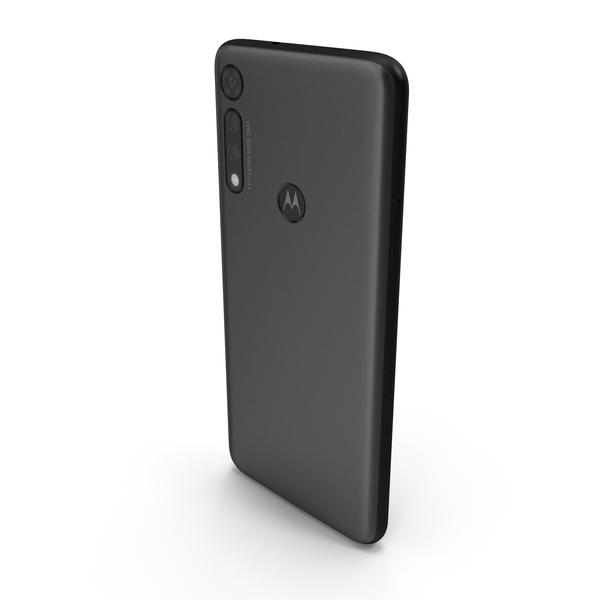 Motorola Moto G8 Play Black PNG & PSD Images