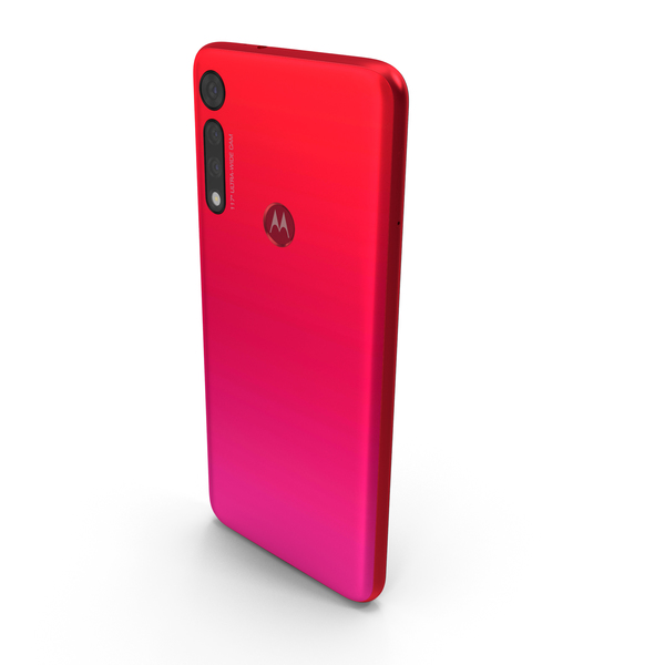 Motorola Moto G8 Play Red PNG & PSD Images