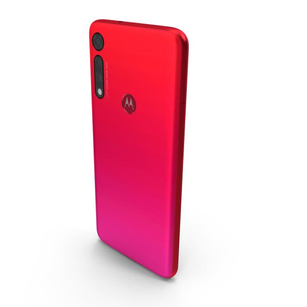 Motorola Moto G8 Play Red PNG & PSD Images