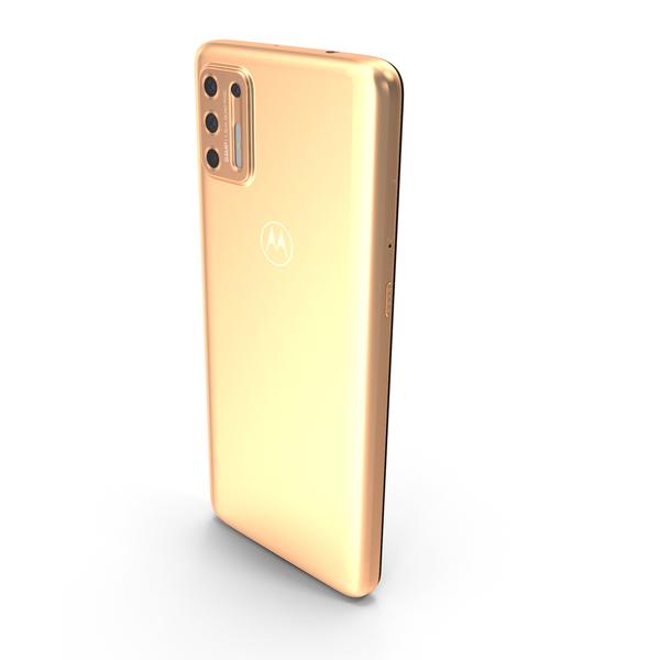 Motorola Moto G9 Plus Copper PNG & PSD Images