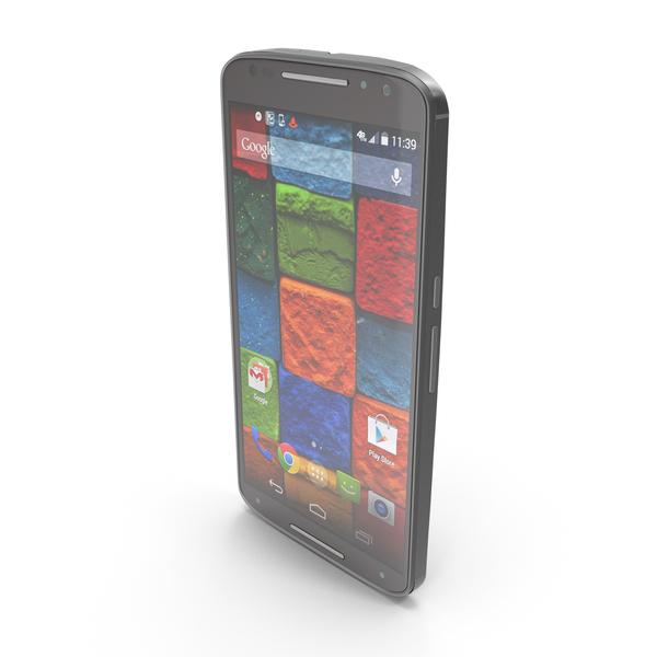 Motorola Moto X 2014 Black PNG & PSD Images