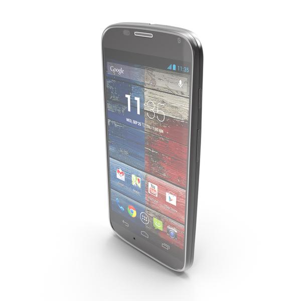 Motorola Moto X Black PNG & PSD Images