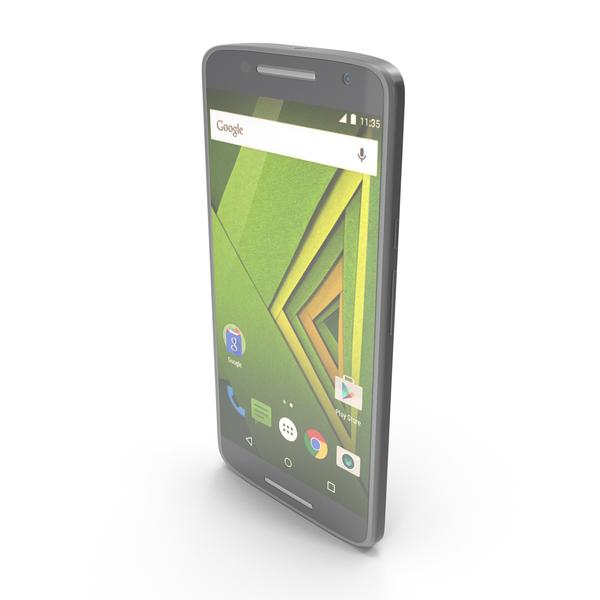 Motorola Moto X Play Black PNG & PSD Images