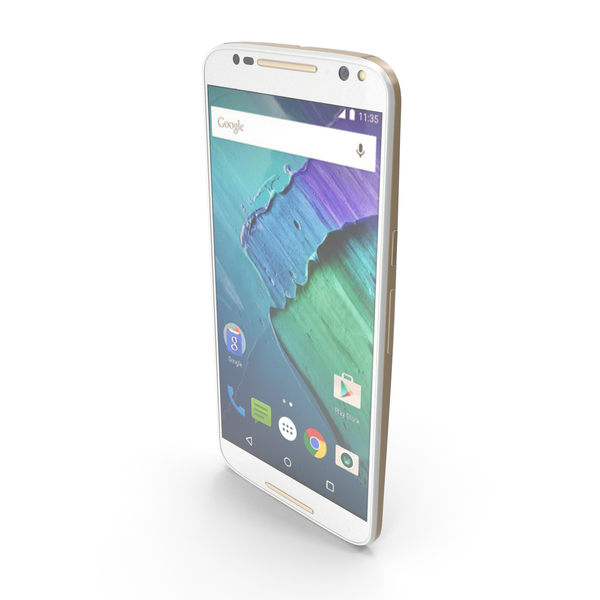 Motorola Moto X Style White PNG & PSD Images