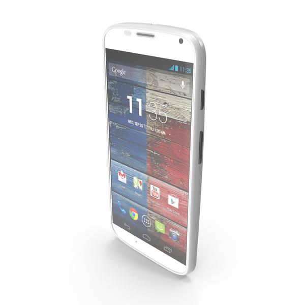 Motorola Moto X White PNG & PSD Images