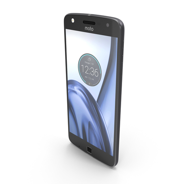 Motorola Moto Z Play (Droid) Black PNG & PSD Images