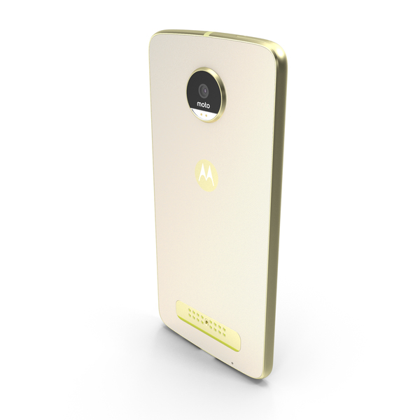 Motorola Moto Z Play Gold PNG & PSD Images