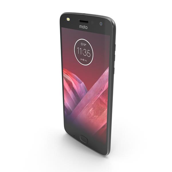 Motorola Moto Z2 Play Gray PNG & PSD Images