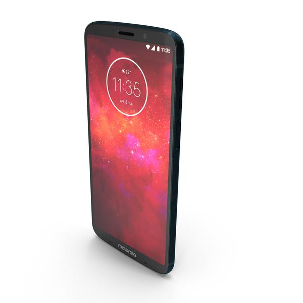 Motorola Moto Z3 Play PNG & PSD Images