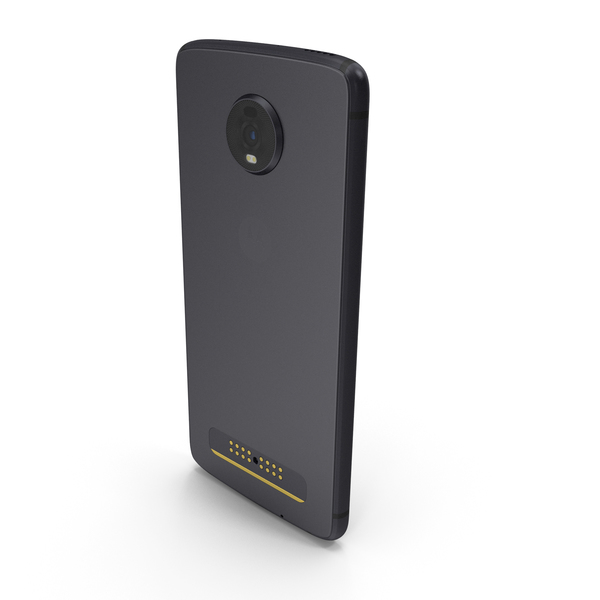 Motorola Moto Z4 Gray PNG & PSD Images