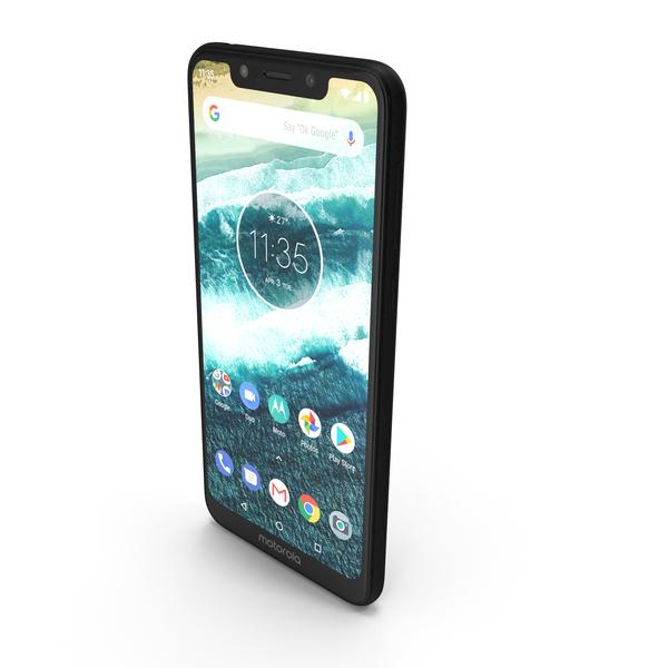 Motorola One Black PNG & PSD Images