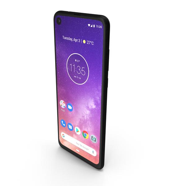 Motorola One Vision Bronze Gradient PNG & PSD Images