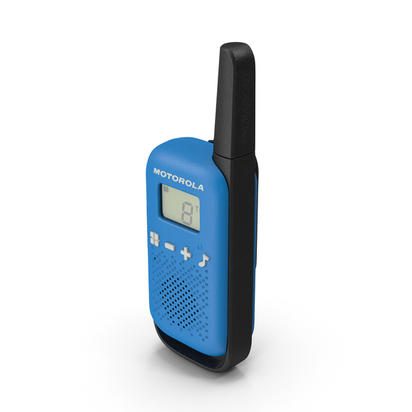 Motorola T42 Talkabout PMR446 PNG & PSD Images