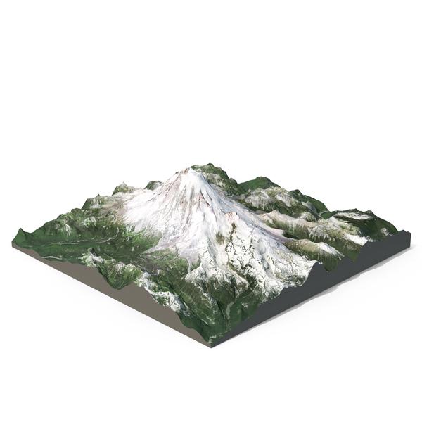 Mount Rainier PNG & PSD Images