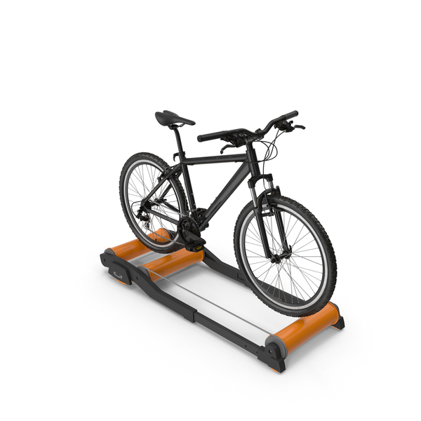 Mountain Bike Riding Roller Platform PNG & PSD Images