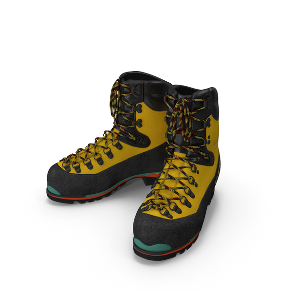 Mountain Walking Rock Climbing Winter Boots PNG & PSD Images