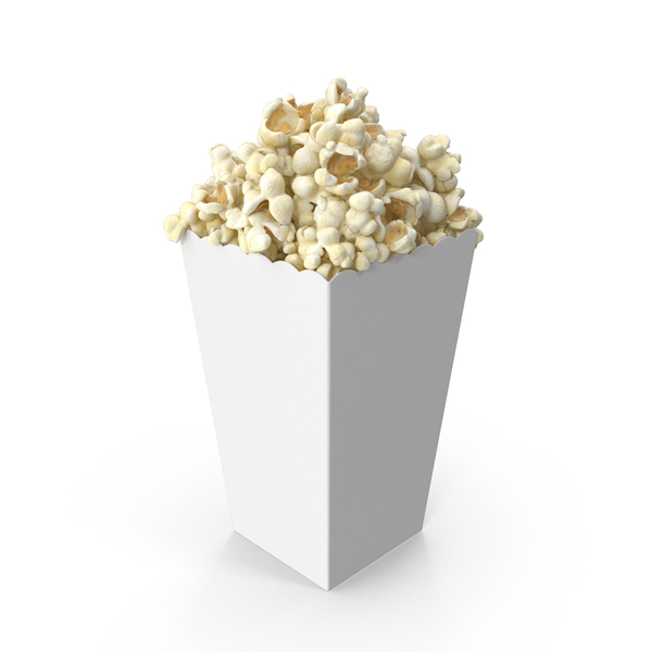 Movie Popcorn Object