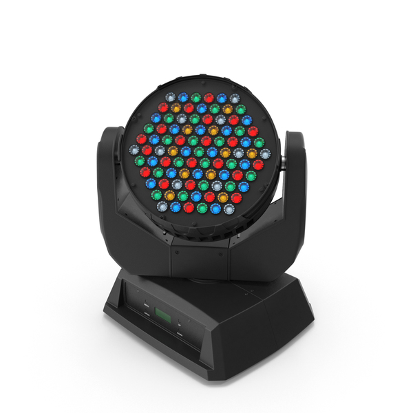 Moving LED Light Object