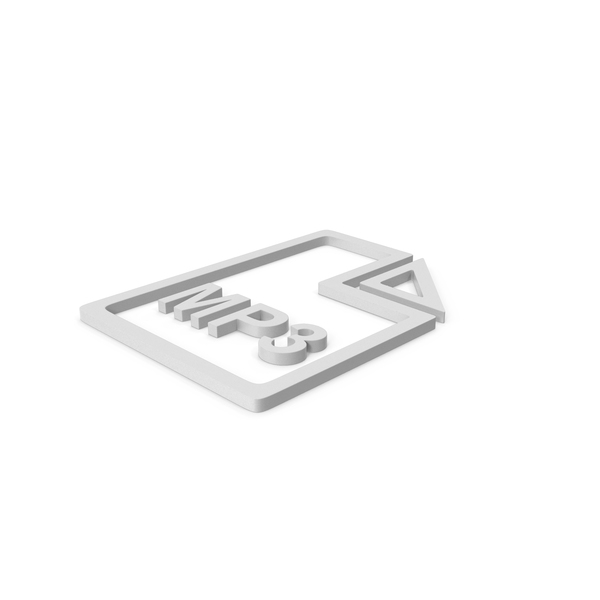 Computer Icon: MP3 File Symbol PNG & PSD Images