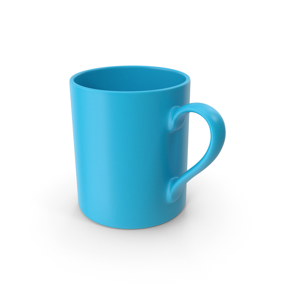 Coffee Cup: Mug Blue PNG & PSD Images