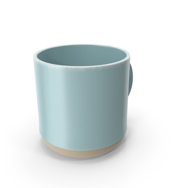 Mug Level Light Blue PNG & PSD Images