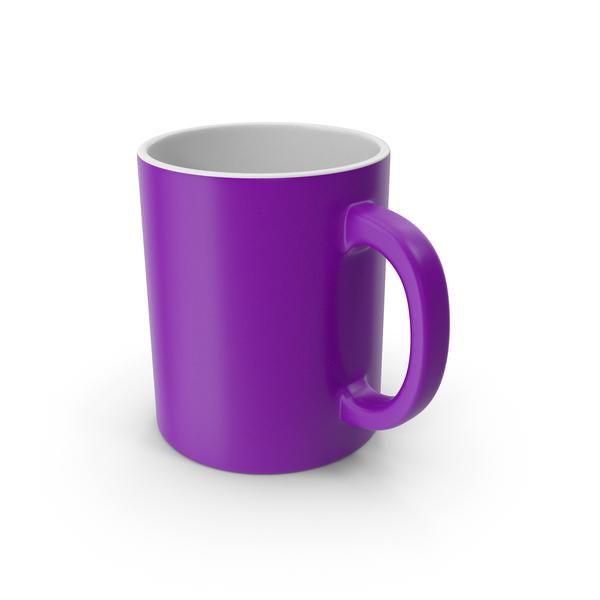 Zarf: Mug Purple PNG & PSD Images