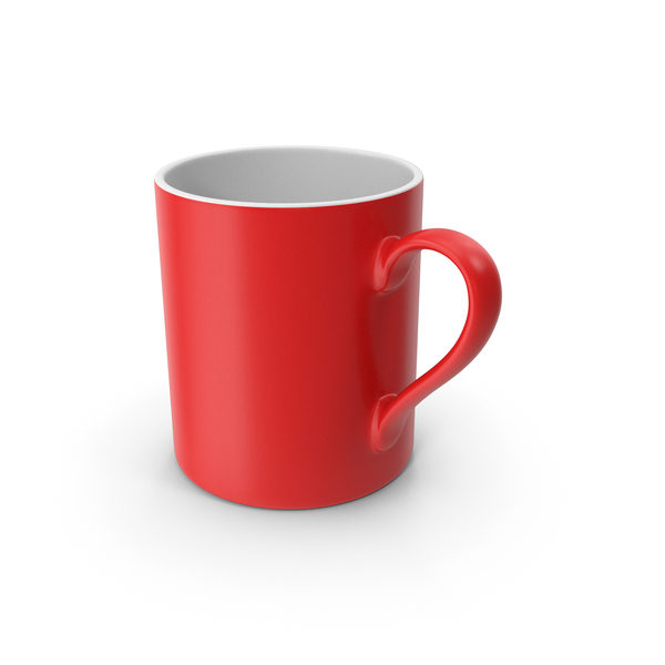 Coffee Cup: Mug Red PNG & PSD Images
