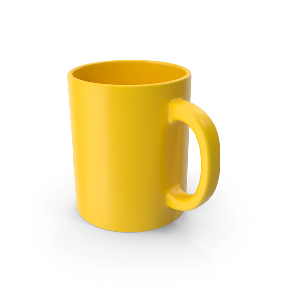 Zarf: Mug Yellow PNG & PSD Images