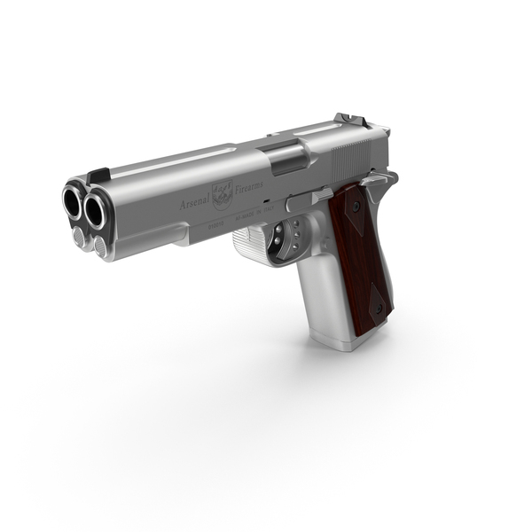Multi Barreled Pistol PNG & PSD Images